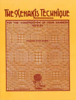 The Xenakis technique for the construction of Four Harness Textiles