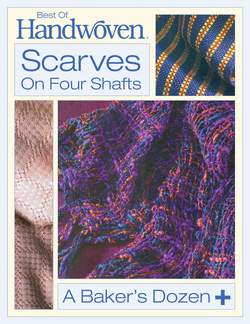 Best of Handwoven: Scarves on Four Shafts -Handwoven eBook Printed Copy