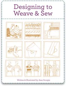 Designing to Weave and Sew  Handwoven eBook Printed Copy