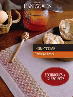 Best of Handwoven Honeycomb  Technique Series  eBook Printed Copy