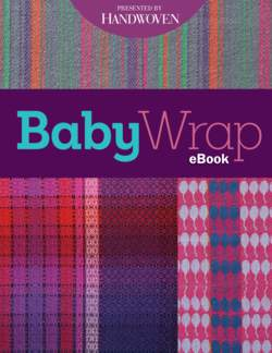 Handwoven Baby Wrap  eBook Printed Copy