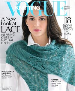 new book or magazine: Vogue Knitting Spring / Summer 2018