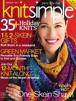 new book or magazine: Knitsimple Holiday 2017
