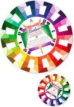 Pocket Rainbow Color Selector Wheel