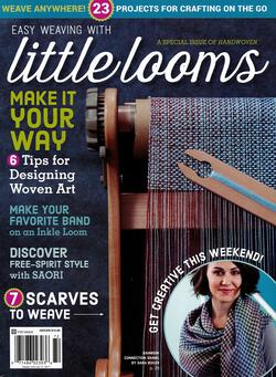 new book or magazine: Easy Weaving with Little Looms a Special Issue of Handwoven 2017