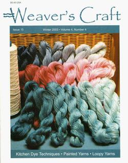 Weaveraposs Craft Winter 2003 Issue 15