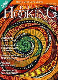 new book or magazine: Rug Hooking Sept/Oct 2018
