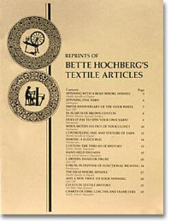 Bette Hochbergaposs Textile Articles