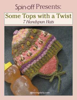 Spin-Off Presents: Some Tops with a Twist: 7 Handspun Hats - eBook Printed Copy