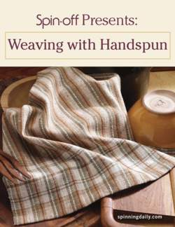 Spin-Off Presents: Weaving with Handspun - eBook Printed Copy