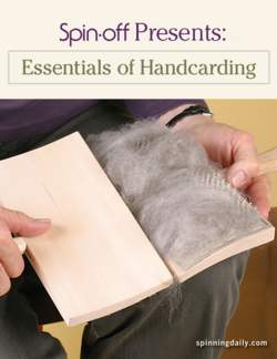 Spin-Off Presents: Essentials of Handcarding - eBook Printed Copy