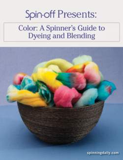 Spin-Off Presents:  A Spinner's Guide to Dyeing and Blending - eBook Printed Copy