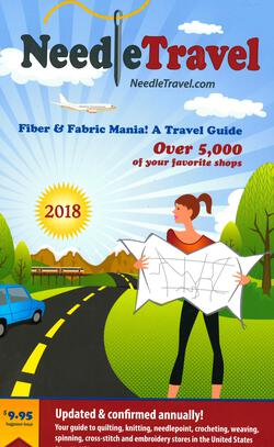 new book or magazine: Needle Travel - Fiber and Fabric Mania! A Travel Guide 2018