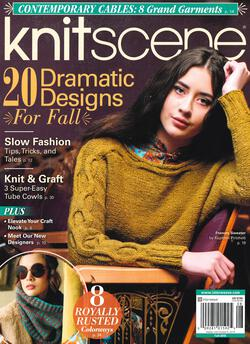 new book or magazine: Knitscene Fall 2018