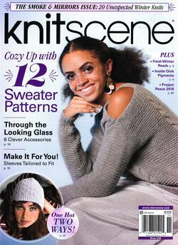 new book or magazine: Knitscene Winter 2018