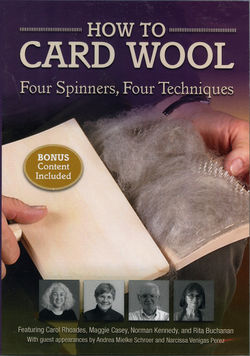 DVD How to Card Wool