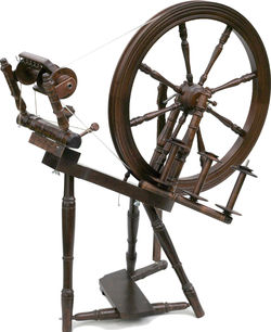 Kromski Interlude Spinning Wheel, Walnut