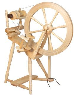 Kromski Prelude Spinning Wheel, Clear