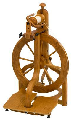 Schacht Matchless LTD Cherry Spinning Wheel Double Treadle