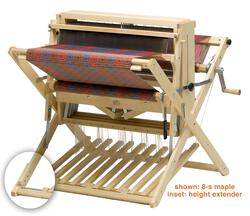 "Schacht 26"" Baby Wolf Loom, 4-Shaft, maple w/Height Extenders"