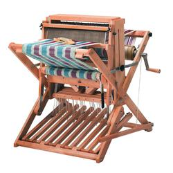 Schacht 18quot Cherry Wolf Pup 810 Loom 8 Shaft 10 Treadle with Trap and Stroller