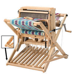 "Schacht 18"" Wolf Pup 8.10 Loom (8 Shaft, 10 Treadle) with Height Extenders"