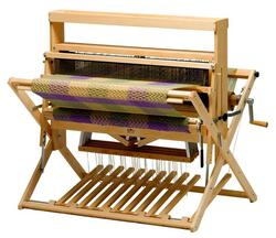 "Schacht 36"" Mighty Wolf Loom,  4-Now 4-Later, maple w/Height Extender"