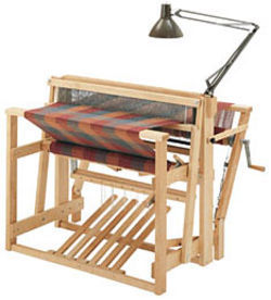"Schacht 45"" Low Castle Loom, 4-Now 4-Later, cherry 10 Treadle"