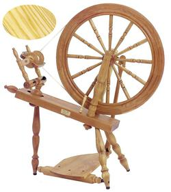 "Schacht - Reeves Spinning Wheel 24""  Single-Treadle, Ash"