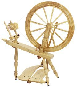 "Schacht - Reeves Spinning Wheel 24""  Double-Treadle, Ash"