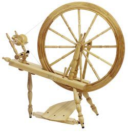 Schacht  Reeves Spinning Wheel 30quot  SingleTreadle Ash