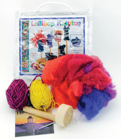Harrisville Lollipop Knitting Spool Kit