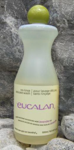 Eucalyptus Eucalan Wool Wash 16.9 oz bottle