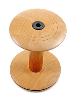 Majacraft Wood Bamboo Spinning Wheel Bobbin