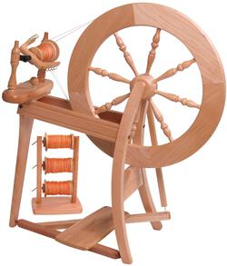 Ashford Traditional Spinning Wheel DoubleDrive Unfinished