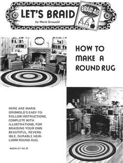 How to Make a Braided  Round Rug