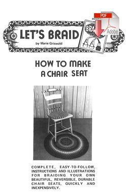 How to Make Braided Chair Seats - Pattern download