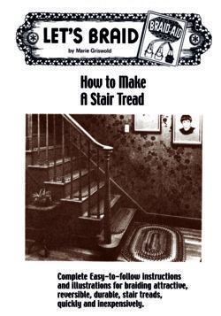 How to Make Braided Stair Treads