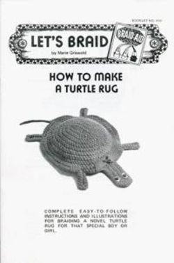 How to Make a Braided Turtle Rug
