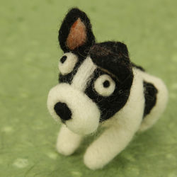 Puppy Dog Needle Felting Kit - Woolbuddy