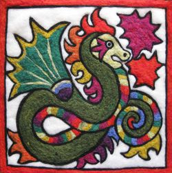 Chinese Dragon Needle Felting Kit