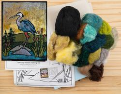 Heron Needle Felting Kit