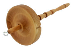 Shotzee Medium Weight Cherry Wood Drop Spindle
