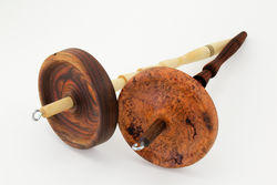 Shotzee Drop Spindle - Exotic Wood