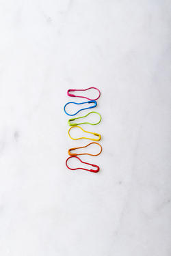 Colored Opening Stitch Markers