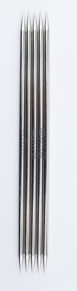 Nova Platina Double Point Knitting Needles 8quot Size 7  by Knitteraposs Pride