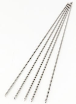 Addi Steel 8quot Double Point Size US 000 150 mm Knitting Needles