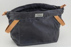 Knitty Gritty Project Bag  Charcoal