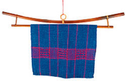 Multi-Craft equipment Large Bamboo K Style Fabric Hanger