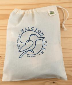 Organic Cotton Drawstring Project Bag